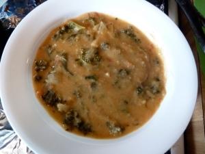 Vegetarian Garbanzo Bean soup