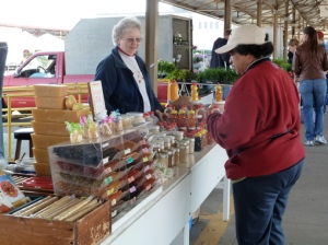 Honey Sellers at the Lyndale Farmers' Market Minneapolis MN © CKatt