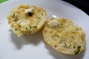 Cheddar and Monterey Jack Cheese Biscuits  with Parsley Thyme & Rosemary © CKatt
