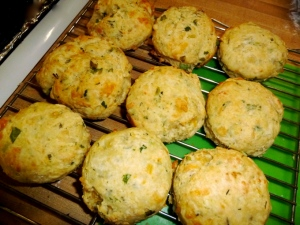 Savory Biscuits with Olive oils and Herbs © CKatt