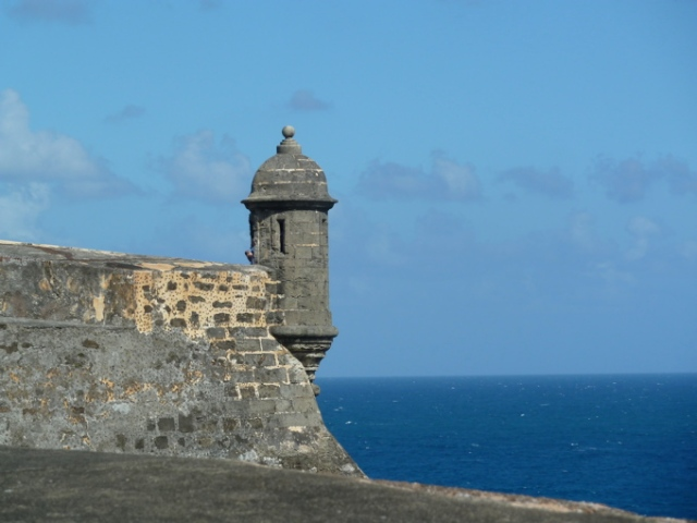 San Juan Fort Tower Copyright CKatt 2014