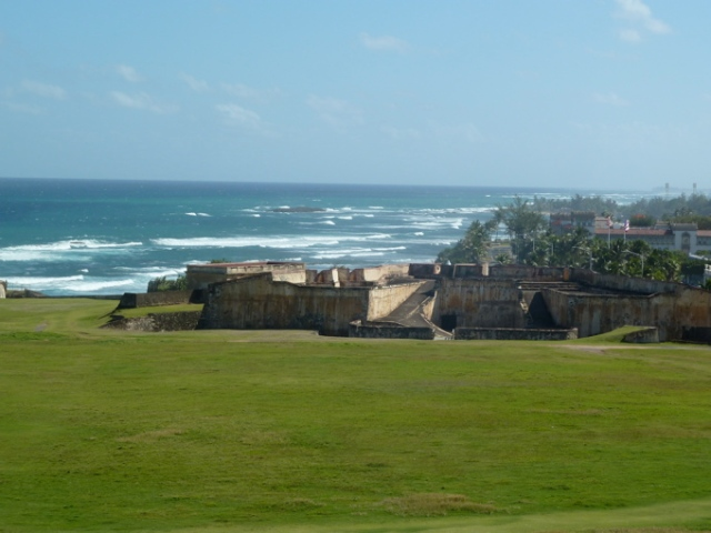 View from the Spanish Fort in San Juan Puerto Rico Copyright CKatt 2014