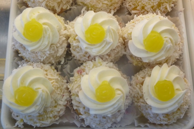 Emerald Bakery Pineapple Coconut Cupcakes