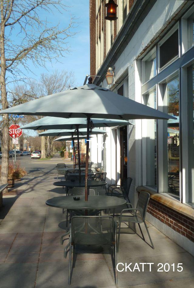 Sidewalk Cafe Whitter © CKatt 2015