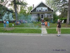 Neighborhood Fireworks Lakeside