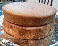 Layer Strawberry cake