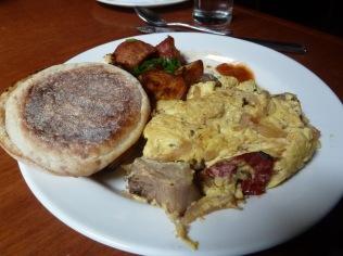 Black Rabbit Restaurant's Steak Omelet