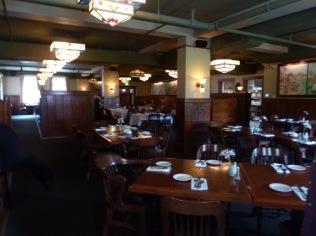 Interior of Black Rabbit Restaurant at Edgefield.
