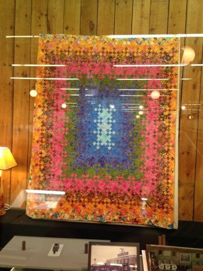 Spectacular quilt