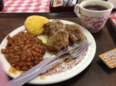Hamline Diner's Swedish meatballs and good coffee!