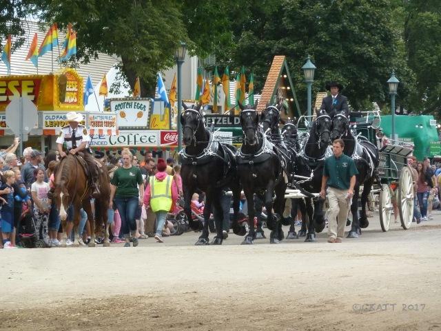 Minnesota State Fair horses 2017