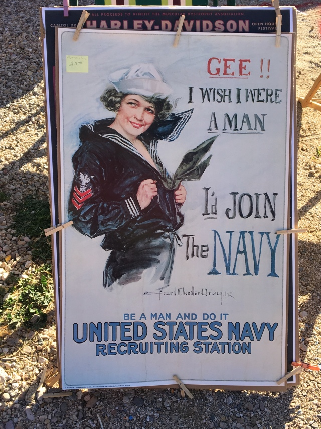 WWII navy poster
