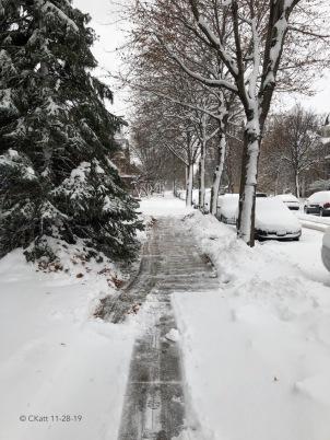 Nov 27 first snow 2019 Ckatt