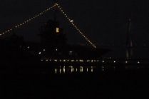 USS Yorktown 12-25-19 silhouette Ckatt