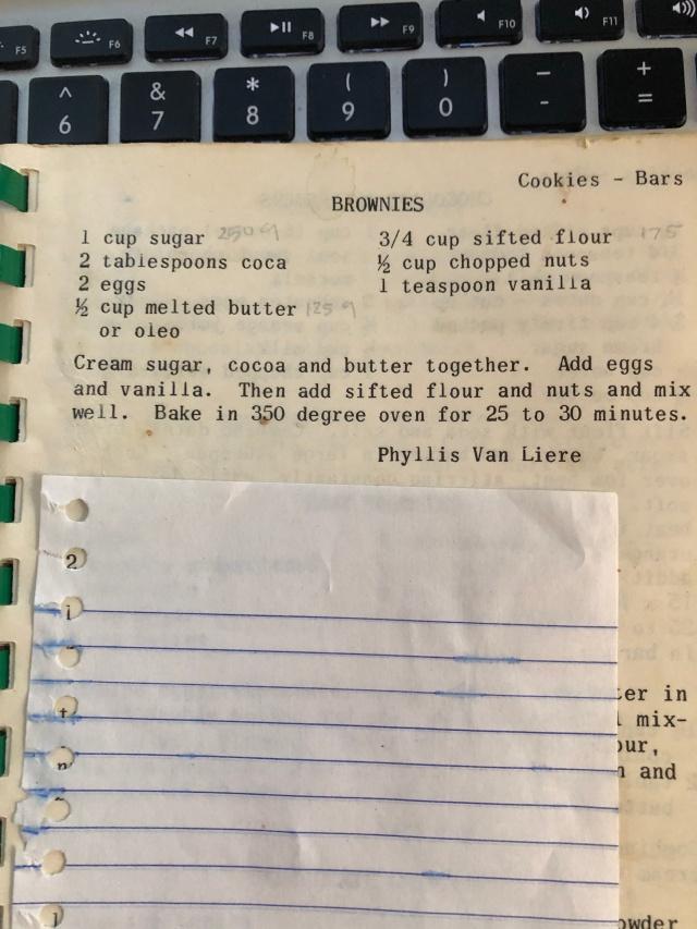 Brownie Recipe Kitchen Kompanion 3-3-2020